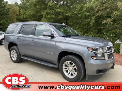 2019 Chevrolet Tahoe for sale at CBS Quality Cars in Durham NC