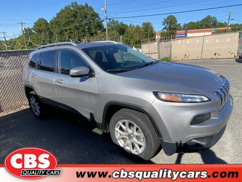 2018 Jeep Cherokee for sale at CBS Quality Cars in Durham NC