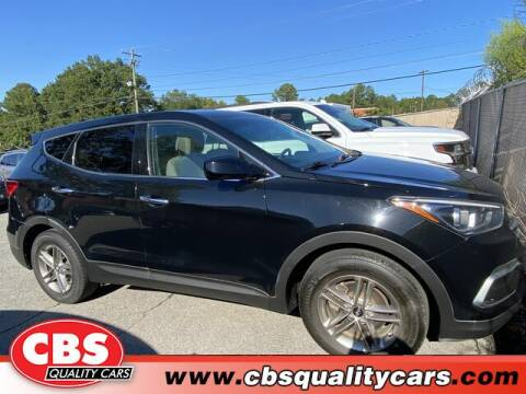 2018 Hyundai Santa Fe Sport for sale at CBS Quality Cars in Durham NC