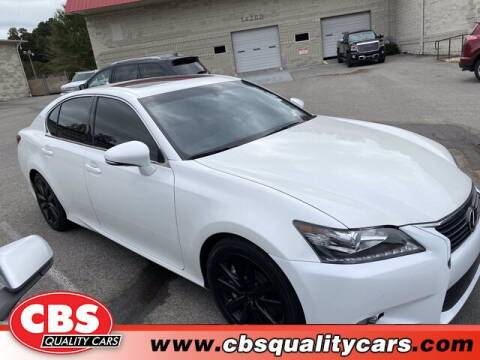 2014 Lexus GS 350 for sale at CBS Quality Cars in Durham NC