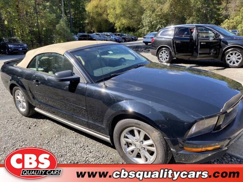 2008 Ford Mustang for sale at CBS Quality Cars in Durham NC