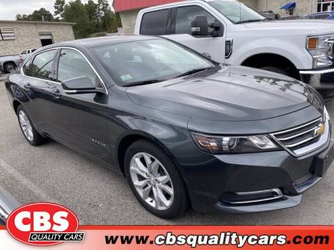 2019 Chevrolet Impala for sale at CBS Quality Cars in Durham NC