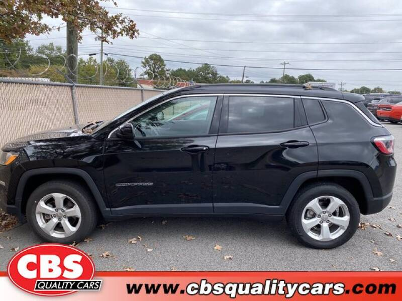 2019 Jeep Compass for sale at CBS Quality Cars in Durham NC