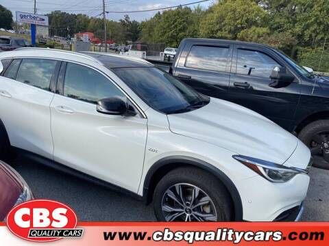 2018 Infiniti QX30 for sale at CBS Quality Cars in Durham NC