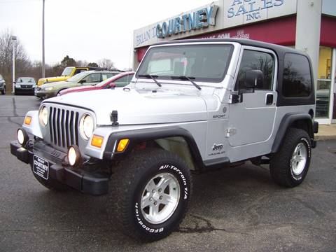 2004 Jeep Wrangler for sale in Alliance, OH