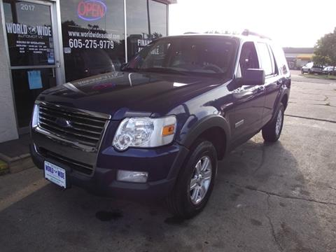 2007 Ford Explorer for sale at World Wide Automotive in Sioux Falls SD