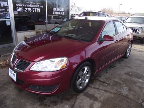 2010 Pontiac G6 for sale in Sioux Falls, SD
