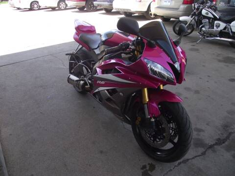 2007 Yamaha Yzf-R6r for sale at World Wide Automotive in Sioux Falls SD