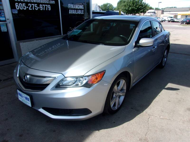 2014 Acura ILX for sale at World Wide Automotive in Sioux Falls SD