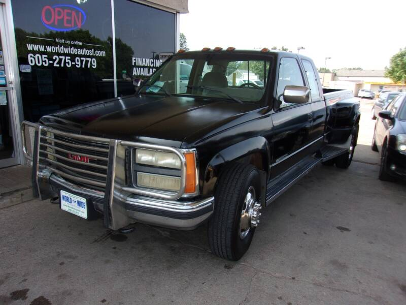 1992 GMC Sierra 3500 for sale at World Wide Automotive in Sioux Falls SD