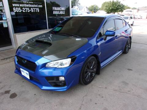 2015 Subaru WRX for sale at World Wide Automotive in Sioux Falls SD