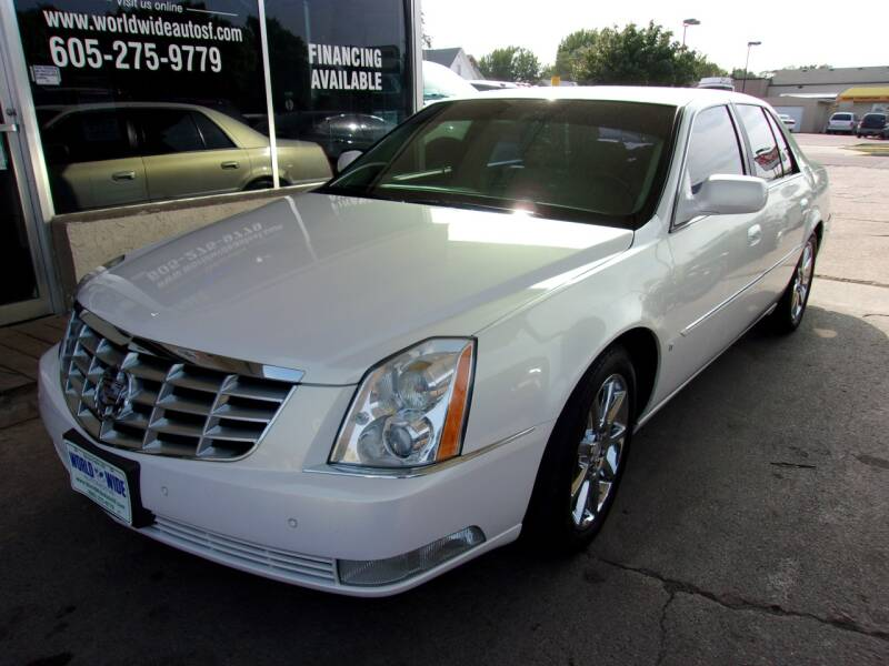 2006 Cadillac DTS for sale at World Wide Automotive in Sioux Falls SD