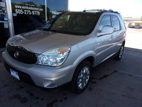 2007 Buick Rendezvous for sale at World Wide Automotive in Sioux Falls SD