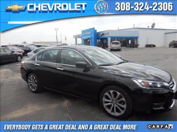 2014 Honda Accord for sale in Lexington, NE