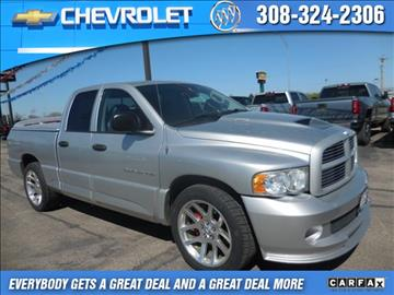 2005 Dodge Ram Pickup 1500 SRT-10 for sale in Lexington, NE