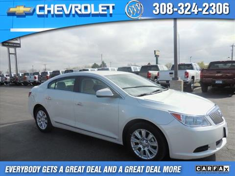 2012 Buick LaCrosse for sale in Lexington, NE