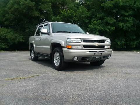 2005 Chevrolet Tahoe for sale at Westford Auto Sales in Westford MA