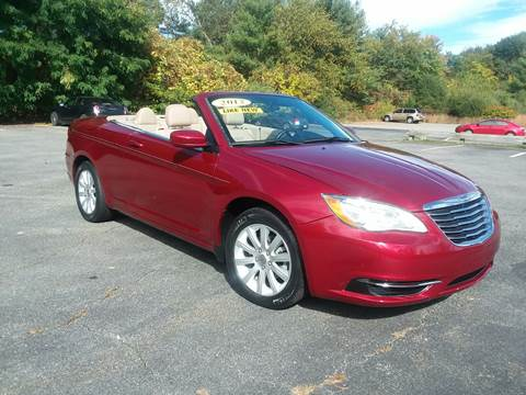 2012 Chrysler 200 Convertible for sale in Westford, MA
