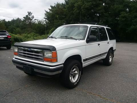 1992 Ford Explorer for sale at Westford Auto Sales in Westford MA