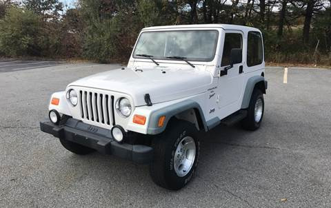 2000 Jeep Wrangler for sale at Westford Auto Sales in Westford MA