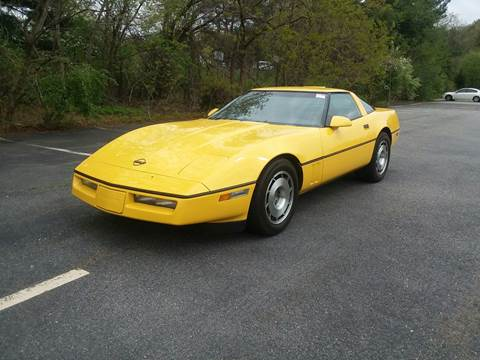1987 Chevrolet Corvette for sale at Westford Auto Sales in Westford MA