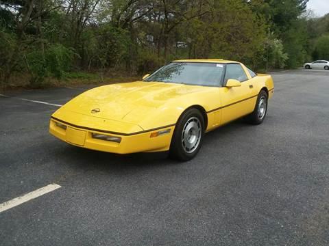 Used 1987 Chevrolet Corvette For Sale Carsforsalecom
