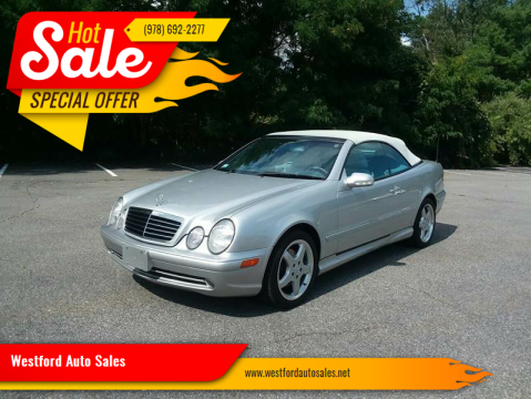 2002 Mercedes-Benz CLK for sale at Westford Auto Sales in Westford MA