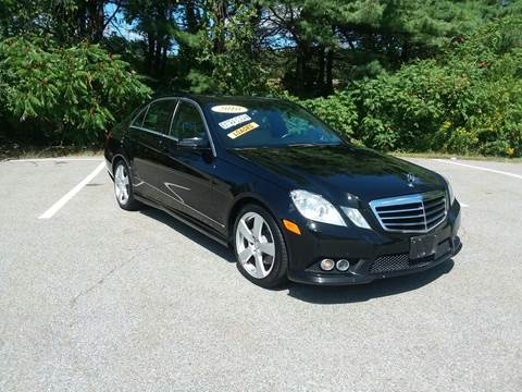 2010 Mercedes-Benz E-Class for sale at Westford Auto Sales in Westford MA