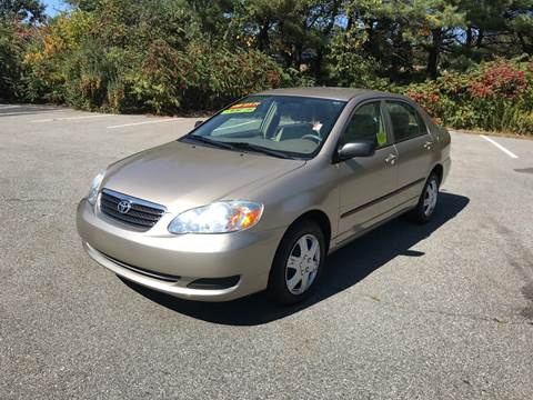2007 Toyota Corolla for sale at Westford Auto Sales in Westford MA