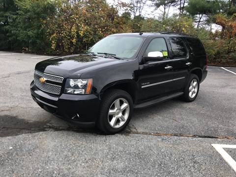2013 Chevrolet Tahoe for sale at Westford Auto Sales in Westford MA