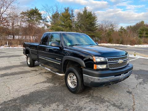 2005 Chevrolet Silverado 2500HD for sale at Westford Auto Sales in Westford MA