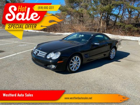 2008 Mercedes-Benz SL-Class for sale at Westford Auto Sales in Westford MA
