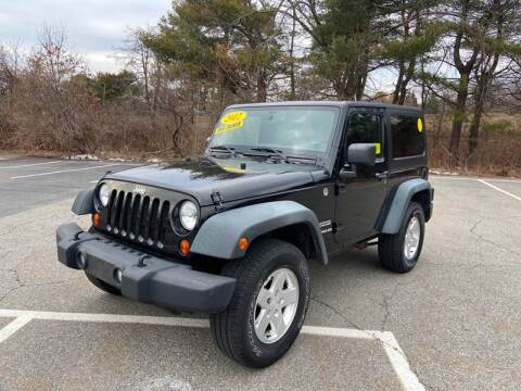 2012 Jeep Wrangler for sale at Westford Auto Sales in Westford MA