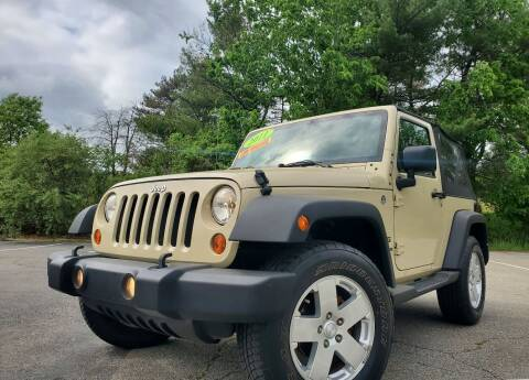 2011 Jeep Wrangler for sale at Westford Auto Sales in Westford MA