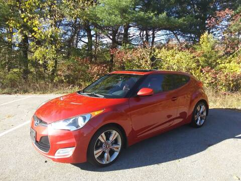 2012 Hyundai Veloster for sale at Westford Auto Sales in Westford MA