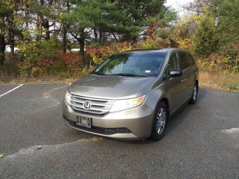 2011 Honda Odyssey for sale at Westford Auto Sales in Westford MA