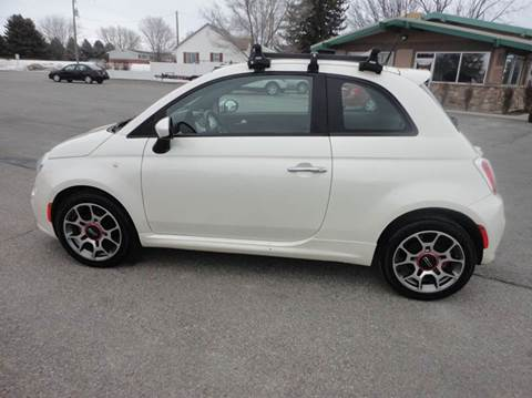 2012 FIAT 500 for sale at Preston Hometown Auto in Preston ID