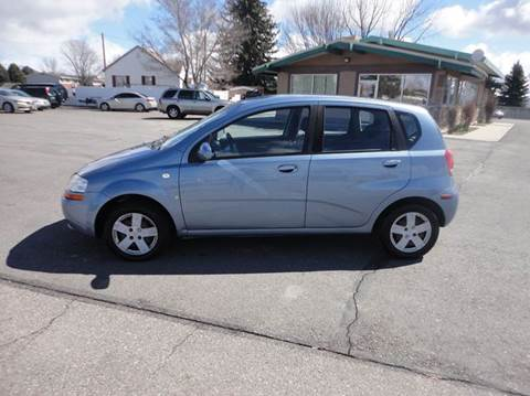 2007 Chevrolet Aveo for sale at Preston Hometown Auto in Preston ID