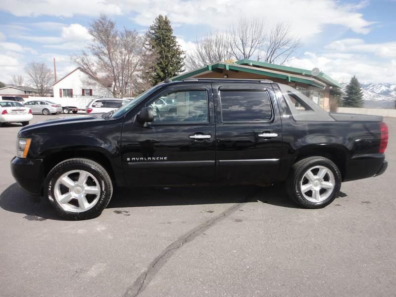 2008 Chevrolet Avalanche for sale at Preston Hometown Auto in Preston ID