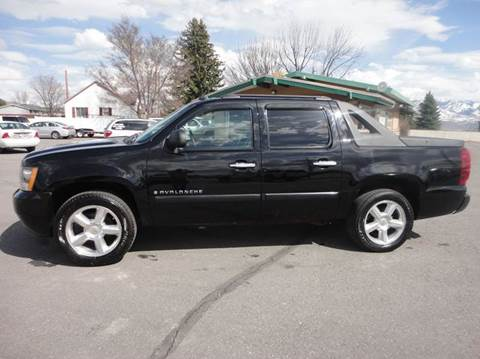 2008 Chevrolet Avalanche for sale at Preston Hometown Auto in Preston ID