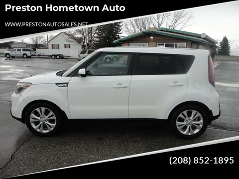 2014 Kia Soul for sale at Preston Hometown Auto in Preston ID