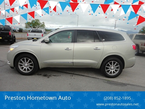 2016 Buick Enclave for sale at Preston Hometown Auto in Preston ID