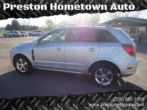 2013 Chevrolet Captiva Sport for sale at Preston Hometown Auto in Preston ID