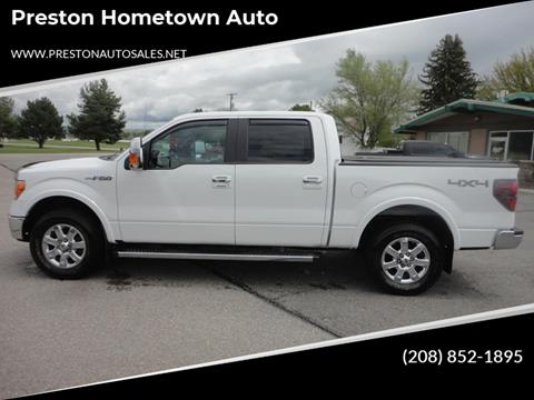 2014 Ford F-150 for sale at Preston Hometown Auto in Preston ID