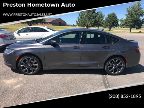 2015 Chrysler 200 for sale in Preston, ID