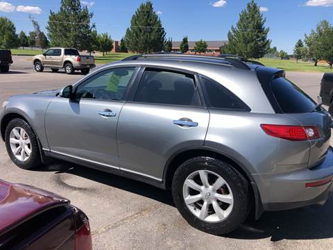 2005 Infiniti FX35 for sale at Preston Hometown Auto in Preston ID