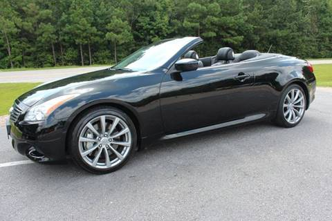 2009 Infiniti G37 Convertible for sale in Raleigh, NC