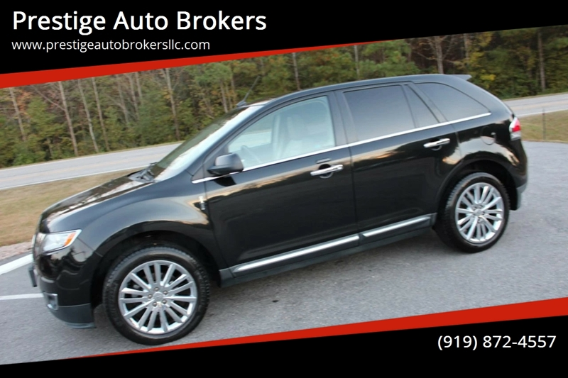 2011 Lincoln Mkx Awd 4dr Suv In Raleigh Nc Prestige Auto Brokers