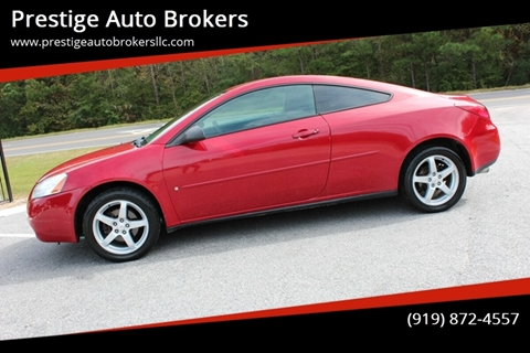 2006 Pontiac G6 for sale in Raleigh, NC