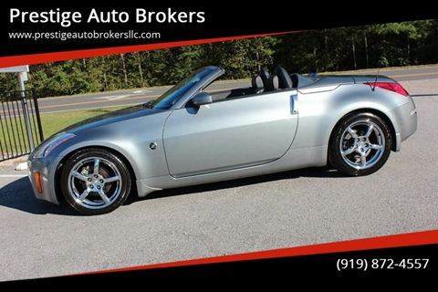 2004 Nissan 350Z for sale in Raleigh, NC